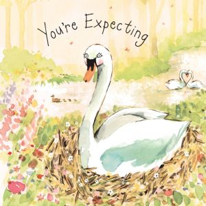 FIZ12 - You're Expecting Card Swan